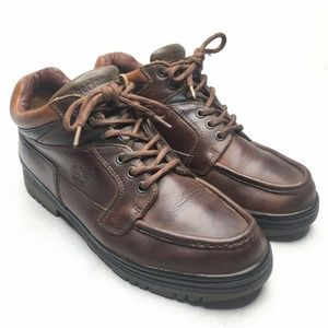 Timberland Mens Leather Casual Shoes Brown GoreTex